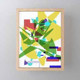 Waking Up Framed Mini Art Print