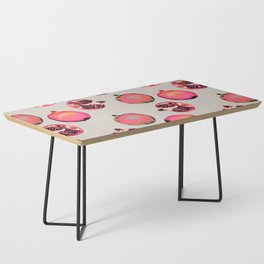 Pomegranate Pattern Coffee Table