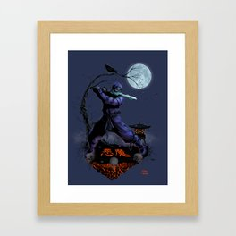 Demon Ninja 2.0 Framed Art Print