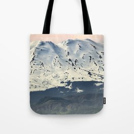 Mount St. Helens at Sunset Tote Bag