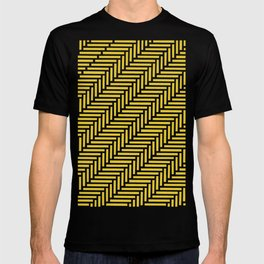 Herringbone 45 Yellow T-shirt