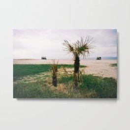 GRAND RESORT SERIES. Horizon, Piran, Mediterranean Sea, Color Film Photo Metal Print
