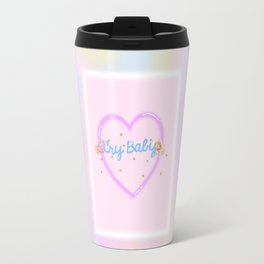 CRY BABY in pastels Travel Mug