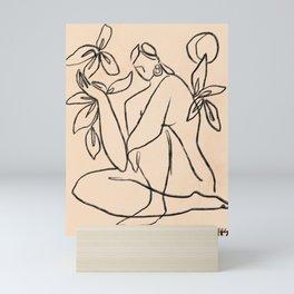 Summer lines |X Mini Art Print