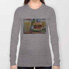 Gourmet Burger and Smoothies  Long Sleeve T-shirt