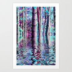 PEACE TREE-TY Art Print
