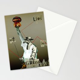 The truth is dead 9 Stationery Cards