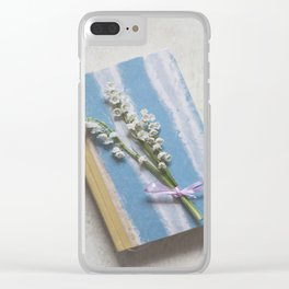 Romantic Book Clear iPhone Case