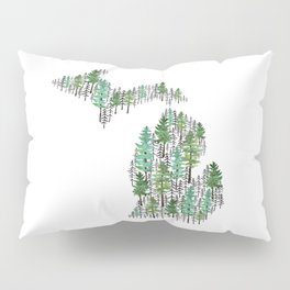 Michigan Forest Pillow Sham