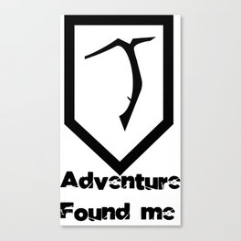 Tomb Raider - Adventure Found Me Canvas Print
