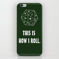 D20  iPhone & iPod Skin