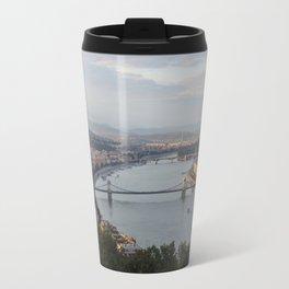 Budapest Cityscape - Overlook Travel Mug