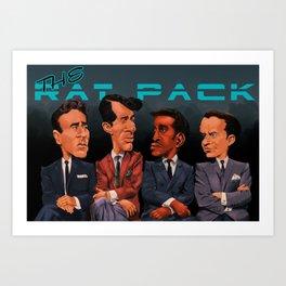 The Rat Pack Art Print