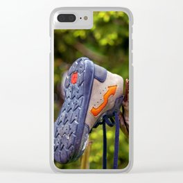 The lonely and lost shoe Clear iPhone Case