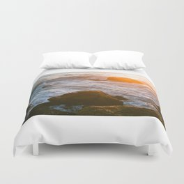 cape sunset Duvet Cover