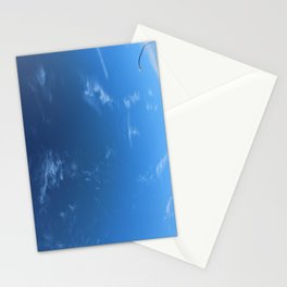 Sky and Light Post Stationery Cards