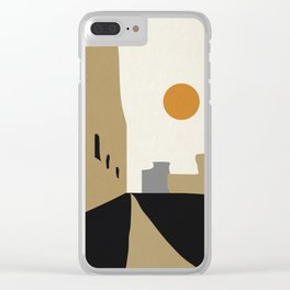 street-Abstract Clear iPhone Case