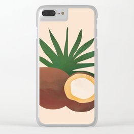 Cocconut Clear iPhone Case