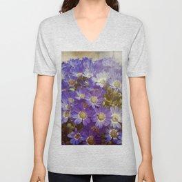 My boheme flowers / Mis flores bohemias Unisex V-Neck