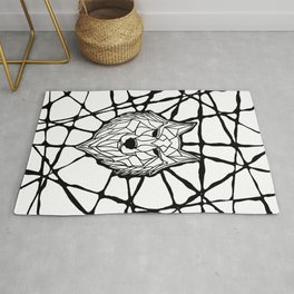 The pack Rug