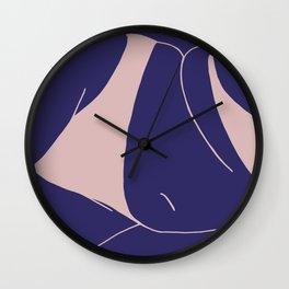 Body Loving I Wall Clock
