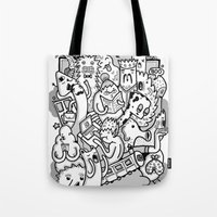 family Tote Bags featuring family by ybalasiano