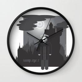 vamp.eye.r Wall Clock