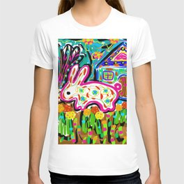 Rabbit and House T-shirt