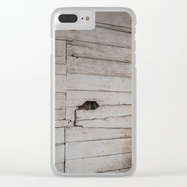 ranch Clear iPhone Case