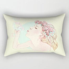Bubbles Rectangular Pillow