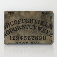 ouija iPad Cases featuring Ouija by Andrea Raths