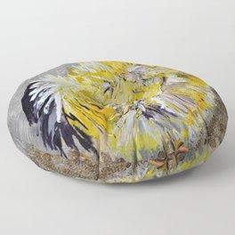 Yellow Chicken Floor Pillow