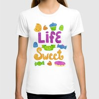 candy T-shirts featuring Candy by Claire Lordon