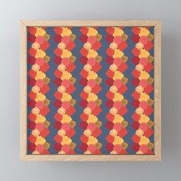Rosie Stripes Framed Mini Art Print