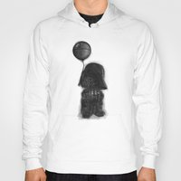 death star Hoodies featuring darth vader & death star! by Darthdaloon