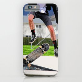 Missed Opportunity  - Skateboarder iPhone Case