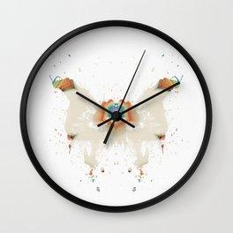 Inkdala LI Wall Clock
