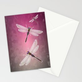 Dragonfly (Pink) Stationery Cards