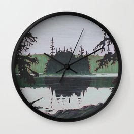 Ouse Lake, Algonquin Park Wall Clock