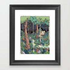 Artist in the Wild Framed Art Print