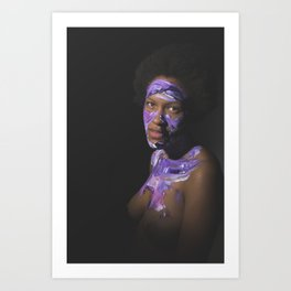 Colors of Women, T.B. Art Print
