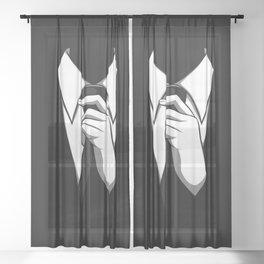 Gentleman Sheer Curtain