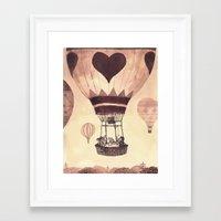 valentine Framed Art Prints featuring Valentine by Chuck Groenink