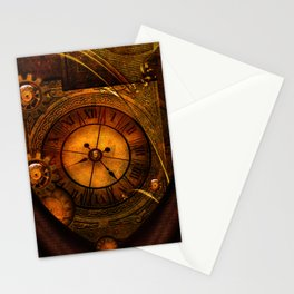 Awesome noble steampunk design Stationery Cards