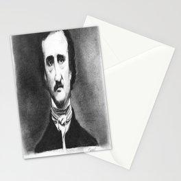 Edgar Allan  Poe Stationery Cards