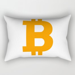 Bitcoin basic Rectangular Pillow