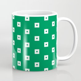 Square with point dotted pattern Coffee Mug