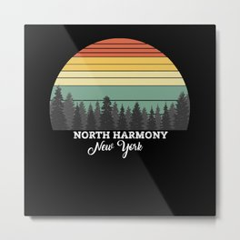 North Harmony New York Metal Print