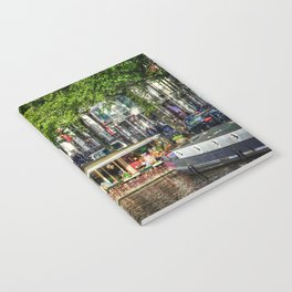 Amsterdam Houseboat on Canal Notebook
