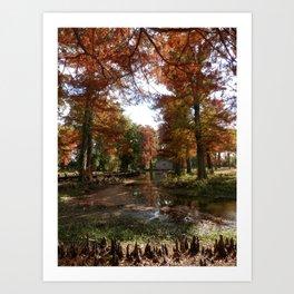Reelfoot Lake Fall Art Print